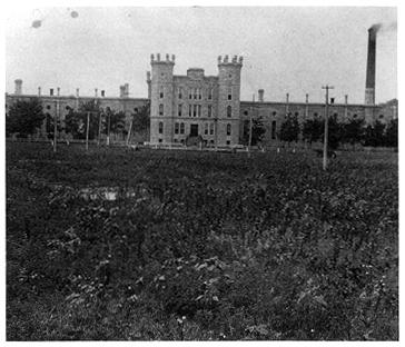 Photo of the State Penitentiary, Lincoln, Nebraska.
