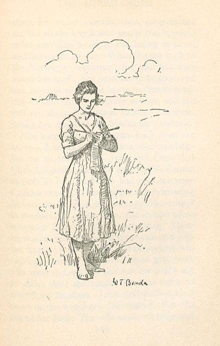 Image of 'Lena knitting'