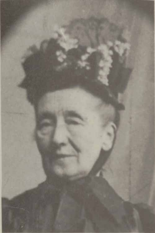 Photo of Frances Smith Cather (Cather's Aunt Franc).