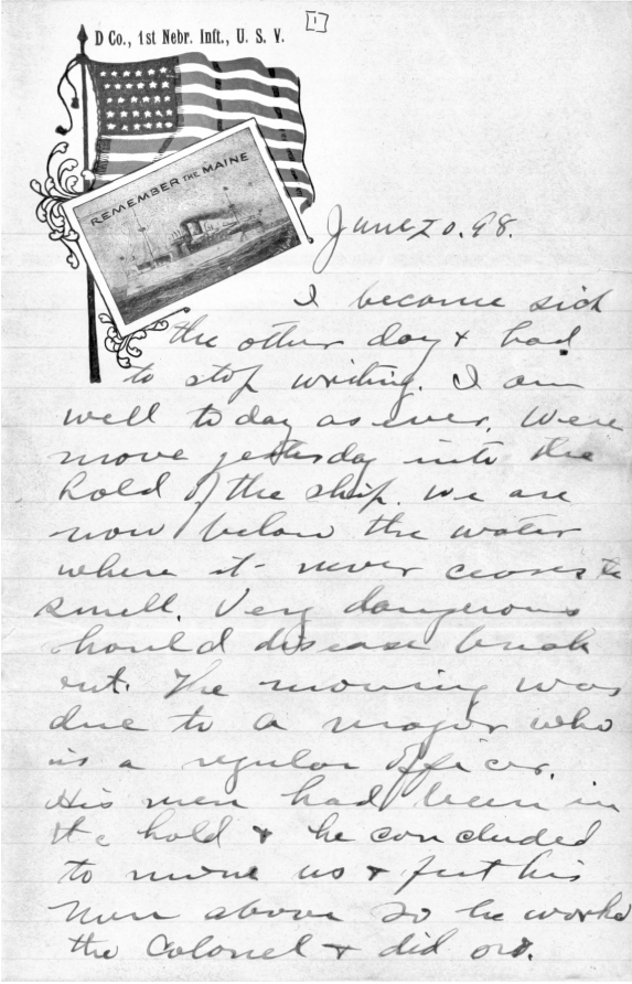 Letter from Bruce Payne to G.P. Cather.