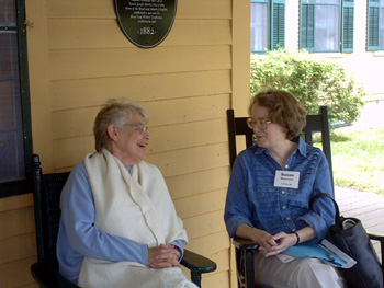 Image of Sharon Hoover and Susan Rosowski