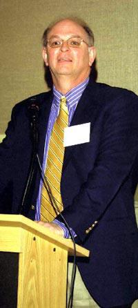 Image of Richard Harris at the WWI Symposium