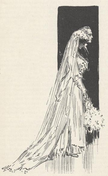 sketch of McClure's wedding to Harriet Hurd