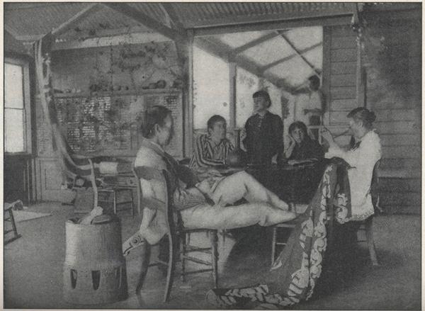 photograph of Stevenson family