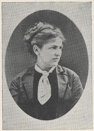 photograph of Mrs. Stevenson