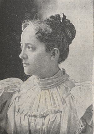 Photograph of Mrs. Bryan.
