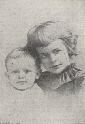 Photograph of Ruth and Grace Bryan.