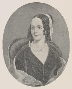 Photograph of Sarah Josepha Hale.