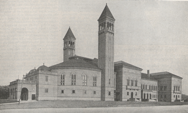 Photograph of the Carnegie Museum.