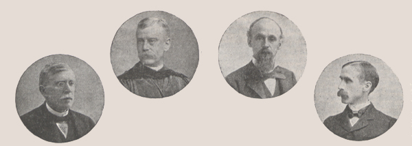Photographs of the Special Committee of the Museum.