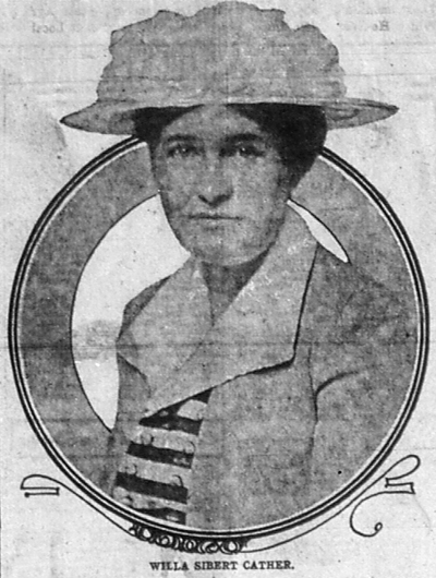 Photograph of Willa Sibert Cather