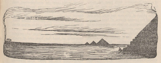 Illustration of pyramids.